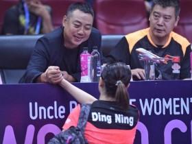 刘国梁回归国家乒乓球队众乒将踏实