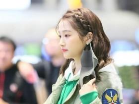 关晓彤现身机场,摘下口罩时被拍下,真是越来越美了!