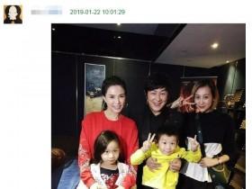 50岁陈浩民和李若彤合影胖了很多,但他老婆这身材真是令人羡慕李若彤图片
