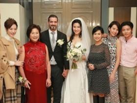 郑佩佩嫁女,朱茵陈法蓉同框撞脸分不清,张晋憔悴,蔡少芬最美