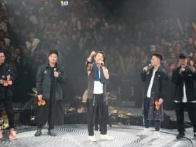 郑伊健第五场演唱会,除了陈小春等古惑仔兄弟,前女友也惊喜现身