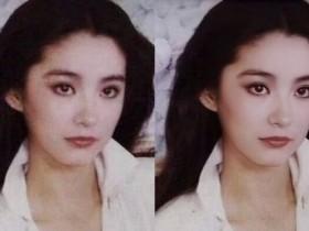 通过AI技术,林青霞旧照被修复,简直美翻了