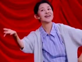 倪萍模仿火箭少女跳舞,身材清瘦自曝减肥成功全靠饿