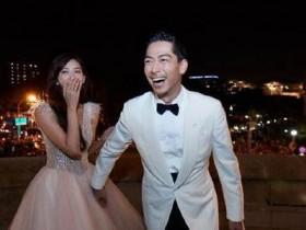 林志玲老公致谢 晒出多张婚礼照片