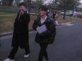 何洛洛参加艺考 现身浙江传媒大学