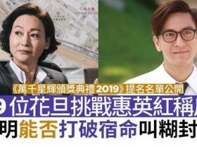 TVB颁奖入围名单 惠英红本次视后的热门人选