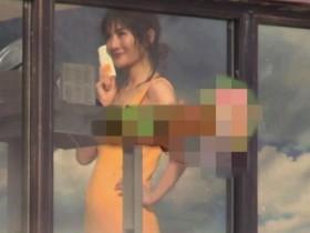 谢娜疑怀二胎 拍广告小腹微微微凸