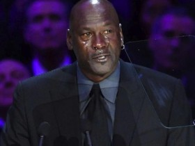 乔丹哭了 全程流泪演讲