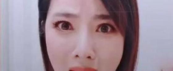 李思思撞脸柳岩 个人社交平台晒短视频
