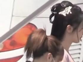 杨紫青簪行路透 粉色的古装非常漂亮