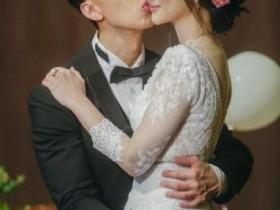 吴尊林丽吟婚礼 婚前21天中补办婚礼
