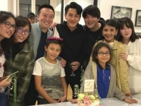 诺一霓娜近照 曝光刘恺威生日聚会的照片