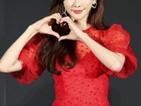 林志玲谈新年愿望 希望能早点怀上小天使