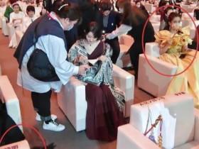 黄晓明baby零交流 两人并未坐在一起