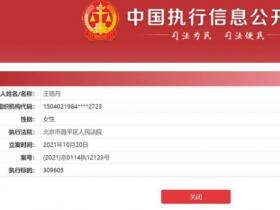 王珞丹工作室回应拖欠工程款被执行