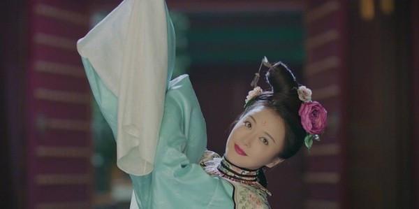 [秦岚神还原洛神妆粉丝说还是演皇后娘娘好