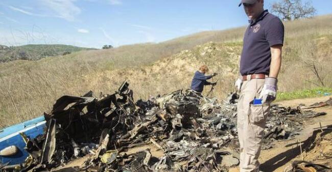 科比坠机事故报告 没有显著迹象表明直升机引擎出现了故障