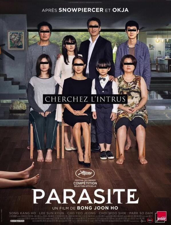 寄生虫获最佳剧本 韩国电影首次在奥斯卡获得多项提名