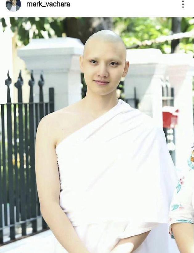 黄书豪出家 泰国婚前二十左右都要做一次僧人
