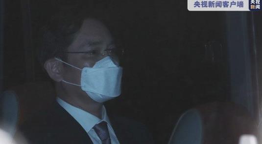 三星副会长受审 法院宣布了最终决定后李在镕返回家中