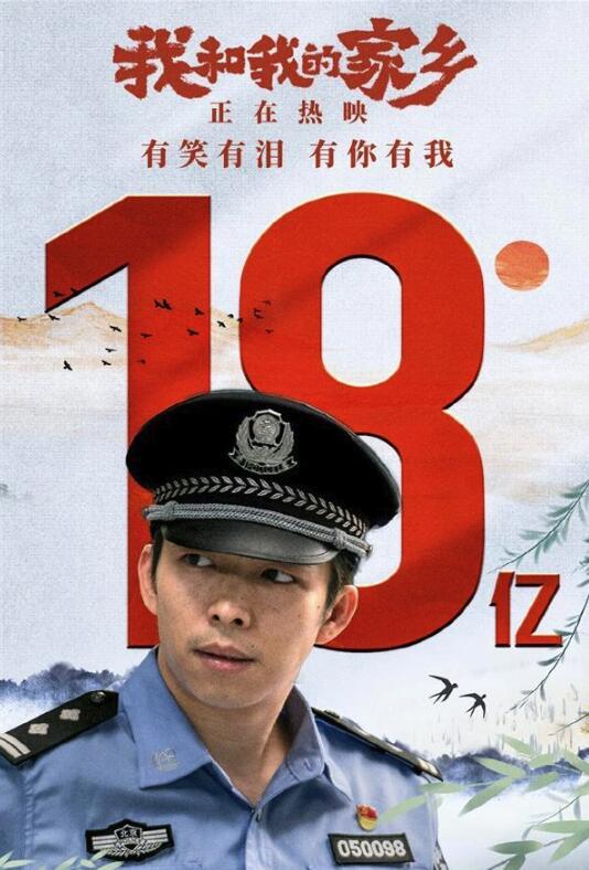 国庆档票房近37亿元 中国影史国庆档票房第二的成绩