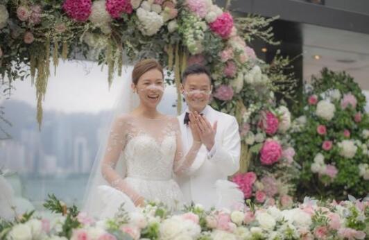 港姐朱慧敏结婚 下嫁心脏科权威陈良贵医生