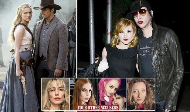 玛丽莲曼森被控虐待 好莱坞女星-埃文·蕾切尔·伍德发文