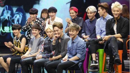 EXO参与录制的四期快本被下架