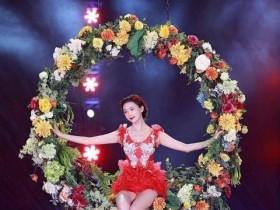 林志玲表演难度高,水上芭蕾让人惊叹
