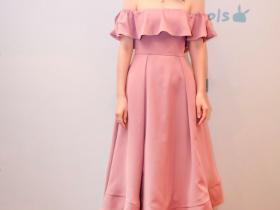 有种气质叫董璇的礼服,一身粉色美如芭比娃娃,高云翔真不懂惜福