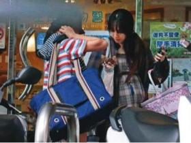 台媒曝郭碧婷怀孕 台北逛街隆起的肚子十分抢眼
