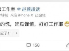 赵薇方否认离婚 捕风捉影吃瓜谨慎