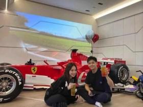 林志颖豪宅曝光 客厅竟然停了一台F1法拉利赛车