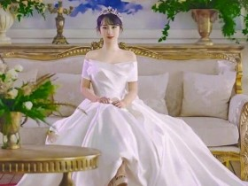 杨紫婚纱造型曝光 《亲爱的热爱的》友情客串