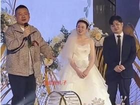 岳云鹏疑有三胎儿子 新婚外甥李筱奎致辞说漏嘴